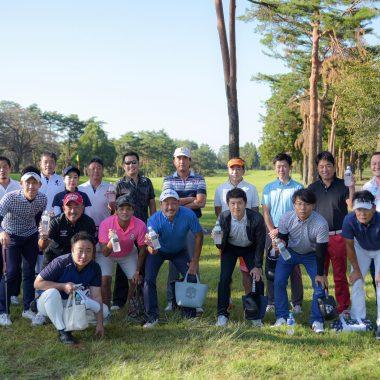 10月 秋季 ゴルフコンペ