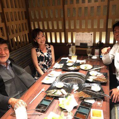 8月 安野社長を囲む会