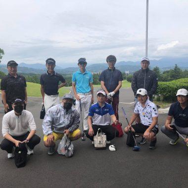 8月 第11回ゴルフ月例会
